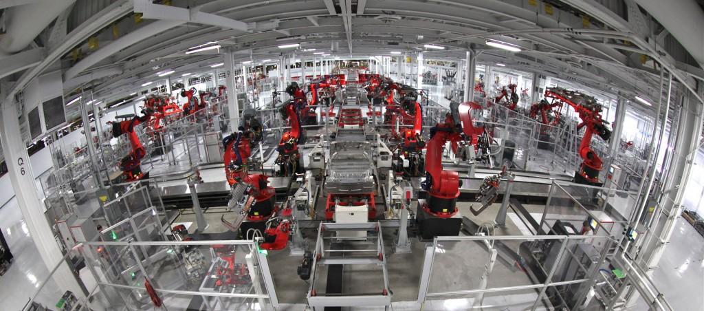 Fábrica da Tesla Motors